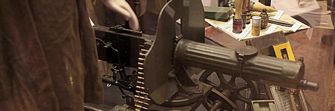 """Пулемёт системы """"Максим"""", Музей военной истории Венгрии, Будапешт"""