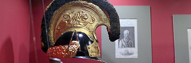 Каска кирасира начала XIX века, Музей военной истории Венгрии, Будапешт