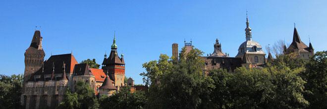 замок Вайдахуньяд, Будапешт, Венгрия. гид по Будапешту