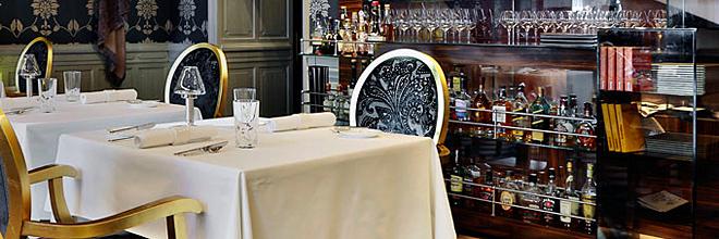 Интерьер мишленовского ресторана Onyx. гид по Будапешту и Венгрии