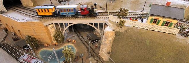 Модели железных дорог Музея Транспорта, Будапешт, Венгрия