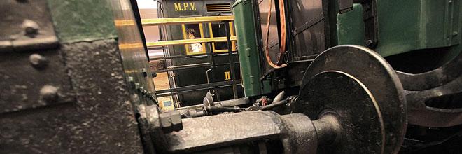 Отдел жд транспорта Музея Транспорта, Будапешт, Венгрия