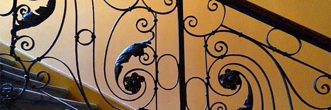 гид по Будапешту Анна Чайковская. лестница, двор, Будапешт