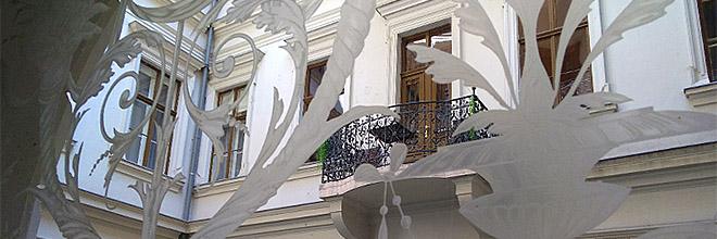 гид по Будапешту Анна Чайковская. двор в Будапеште