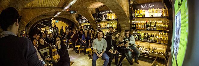 """Дегустация вин молодых венгерских виноделов в винном магазине """"Борхало"""""""