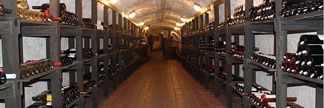 Погреб Музея венгерского вина в Сентендре